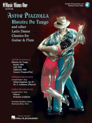 Piazzolla Histoire du Tango and Other Latin Classics for Guitar and Flute) (MMO)