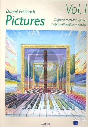 Hellbach Pictures Vol.1 Sopranblockflote-Klavier (Bk-Cd)