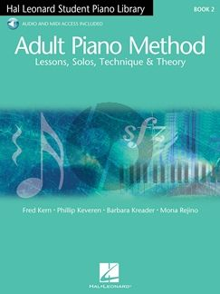 Adult Piano Method Vol.2 Lessons, Solos, Technique