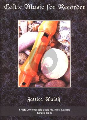 Walsh Celtic Music for Recorder Book with Online Audio