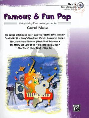 Famous & Fun Pop Vol.4