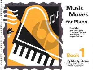 Music Moves for Piano Student Book 1 (Book with Audio Online)