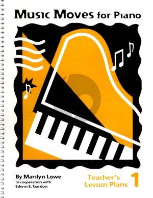 Music Moves Teachers Lesson Plans Book 1