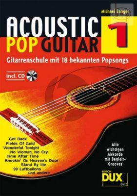 Acoustic Pop Guitar Vol.1 (Buch mit Cd)