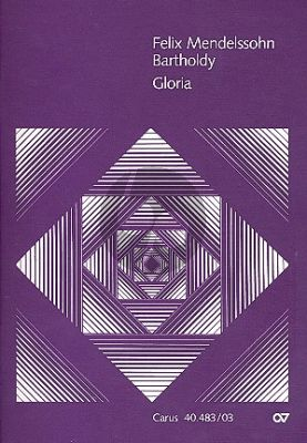 Mendelssohn Gloria Es-dur MWV A 1 Soli-Chor-Orchester Klavierauszug (ed. Pietro Zappalà)