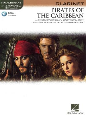 Pirates of the Caribbean for Clarinet (Bk-Audio Access Code)