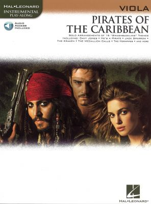 Pirates of the Caribbean for Viola (Bk-Audio Access Code)