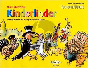 Terzibaschitsch Meine allerersten Kinderlieder (22 Kinderlieder für den Anfangsunterricht am Klavier)
