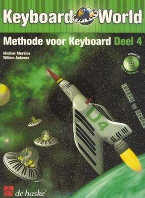 Merkies Keyboard World Vol.4 (Methode voor Keyboard) (Bk-Cd)