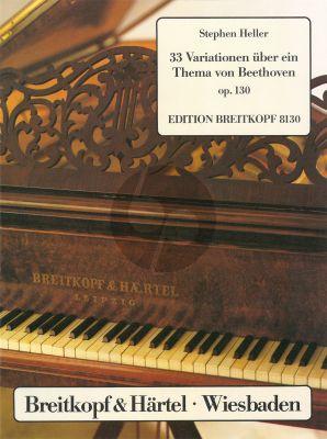 33 Variationen über ein Thema von Beethoven Opus 130 Klavier