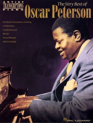 Peterson The Very Best of Oscar Peterson for Piano Solo (18 Authentic Transcriptions)