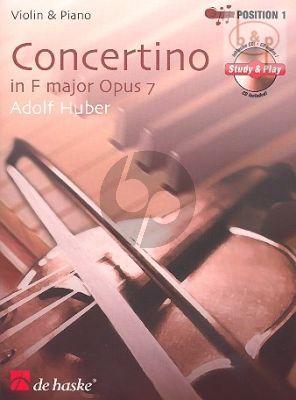 Concertino F-Major Op.7 (Violin-Piano)