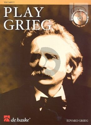 Play Grieg for Trumpet (Bk-Cd) (Kernen-Kampstra) (interm.) (play-along and demo CD)