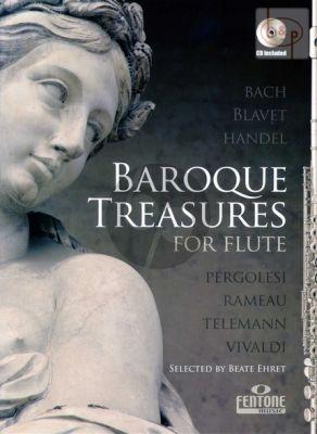 Baroque Treasures for Flute (Bk-Cd)
