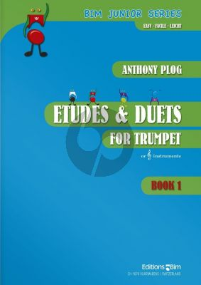 Plog 50 Etudes and 19 Duets Vol.1 for Trumpet(s)