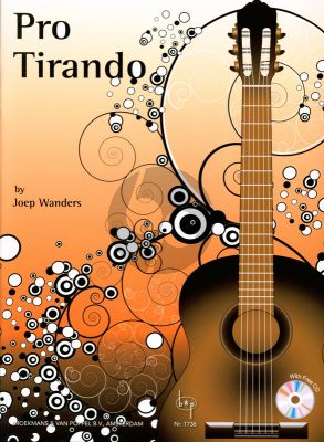Wanders Pro Tirando for Guitar (Bk-with Demo Cd)