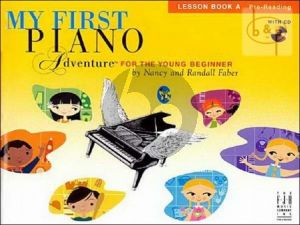 My First Piano Adventure Lesson Book A Faber N.