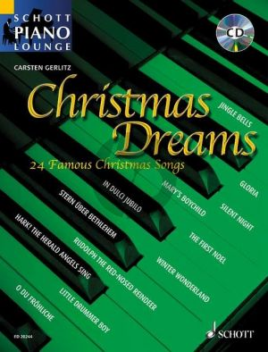 Gerlitz Christmas Dreams Piano (Bk-Cd)