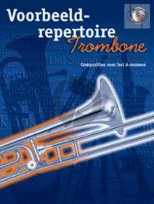 Voorbeeld Repertoire A-Examen (Trombone[BC]) (Bk-Cd)