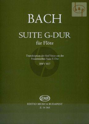Suite G-Dur BWV 817