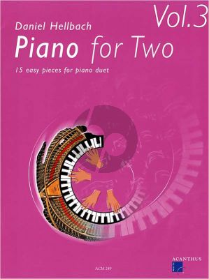 Hellbach Piano for Two Vol.3 (15 easy pieces)