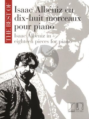 Best of Albeniz Piano Solo (18 Pieces)
