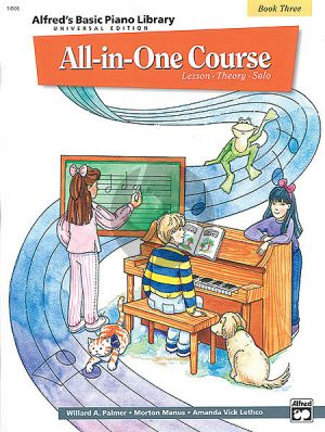 Alfred All in One Course Vol.3 Piano (universal ed.)