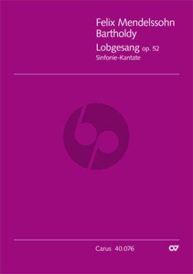 Mendelssohn Lobgesang (Symphony-Cantata) Op.52 (MWV A18) (Soli-Chor-Orch.) (Full Score) (edited by Douglass Seaton)