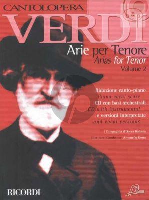 Arias for Tenor Vol.2 (Voice-Piano)