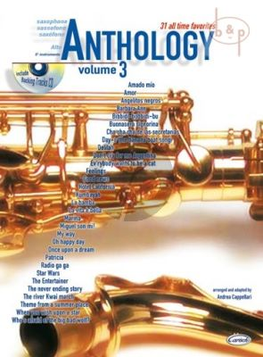 Anthology for Alto Sax. Vol.3 (31 All Time Favorites)