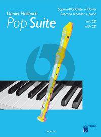 Hellbach Pop Suite (Sopranblfl.-Klavier) (Bk-Cd)