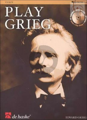 Play Grieg for Violin (Bk-Cd) (arr. Kernen- Kampstra) (interm.level) (CD as Play-Along and Demo)