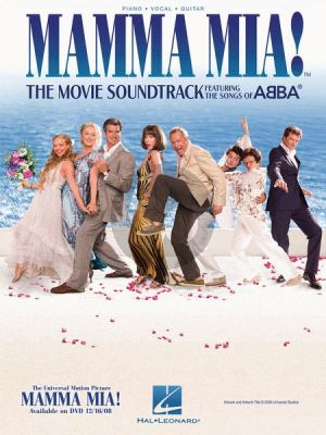Abba Mamma Mia! The Movie Soundtrack Piano-Vocal-Guitar