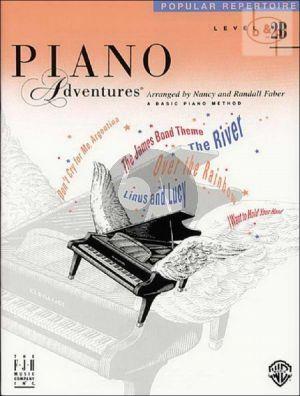 Piano Adventures Popular Repertoire Level 2B