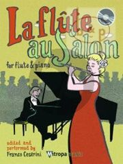 La Flute au Salon (Bk-Cd) (Edited and Performed by Franco Cesarini)