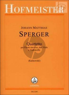Quartet G-major (Fl.- 2 Va.-Vc.) (Score/Parts)