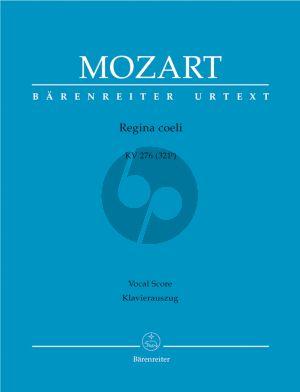Mozart Regina coeli C-major KV 276 (321b) SATB Soli-SATB- 2 Ob.- 2 Clarino's-Timp.- 2 Vi.-Bc (Vocal Score) (Hellmut Federhofer)