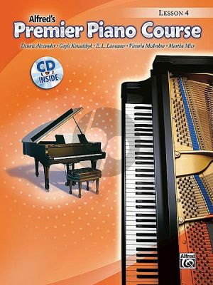 Premier Piano Course Lesson Book 4 (Bk-Cd)