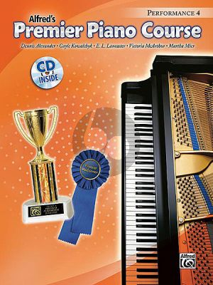 Premier Piano Course 4 Performance Book 4 (Bk-Cd)