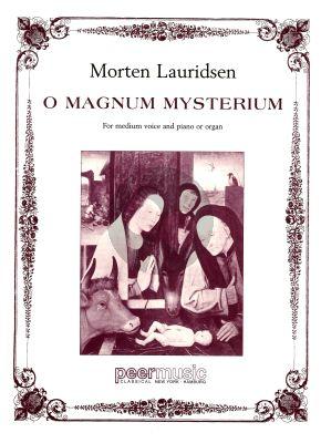 Lauridsen O Magnum Mysterium Gesang-Klavier