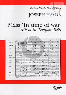 Mass in Time of War (Paukenmesse) (Hob.XXII:9) (Soli-Choir-Orch.)