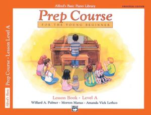 Alfred Prep Course Lesson Book Level A (Bk-CD) (Universal Edion)