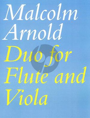 Arnold Duo Op.10 (Flute-Viola)