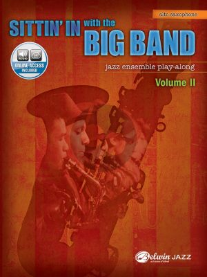 Album Sittin In with the Big Band Vol. 2 for Alto Saxophone Book with Audio Online