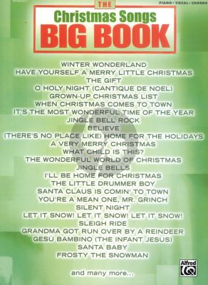 The Christmas Songs Big Book (Piano-Vocal-Guitar)