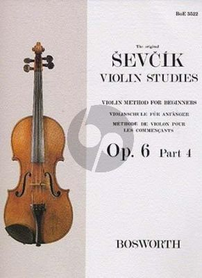 Violin Method for Beginners Op.6 Vol.4