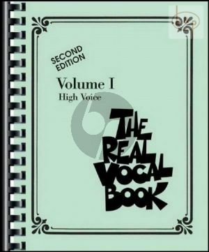 The Real Vocal Book Vol.1 High Voice