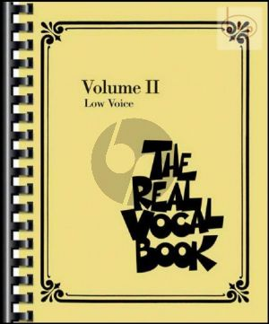 The Real Vocal Book Vol.2 Low Voice