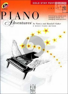 Piano Adventures Gold Star Performance Level 2B
