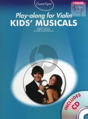 Guest Spot Kid's Musicals Play-Along for Violin